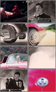 Lola is Howard Stark's flying car!