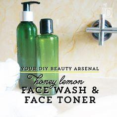 Click Here to try Lemon Honey Skin Wash and Facial Toner : DIY Beauty Arsenal