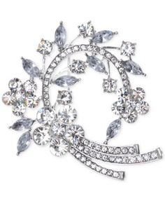 Jones New York Arched Clusters Pin