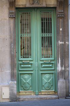 Green Door - Paris, France