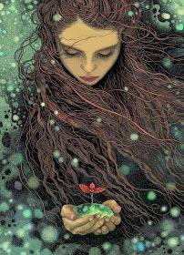 yalnız fok balığı: Illustrations by Magdalena