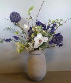 Stel zelf je eigen boeket samen! Zijde bloemen leuk om te geven maar ook leuk om te krijgen webshop www.decoratietakken.nl
