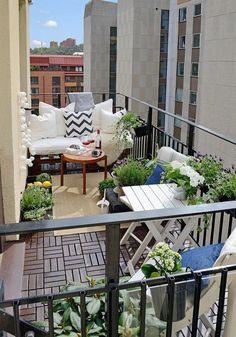 decoracion terraza pequeña - Buscar con Google