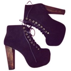 One day I will get my Jeffrey Campbell Lita's!! Maybe my sissy will give me hers. Lol