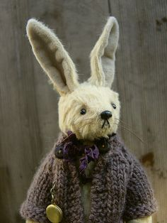 Becca, One Of a Kind Artist Rabbit from Aerlinn Bears