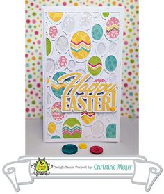 Easter Card Tutorial from Samantha Walker's Imaginary World #Silhouette