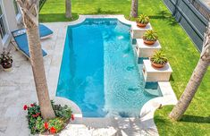 roman-grecian-inground-pool-100 Natural Swimming Pools, Swimming Pools Backyard, Swimming Pool Designs, Pool Landscaping, Lap Pools, Natural Pools, Indoor Pools, Blue Haven Pools, Roman Pool