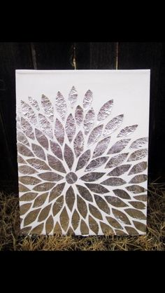 Tin foil art. Fun craft idea!!