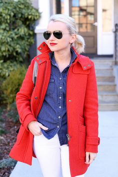 Outfit Ideas for Statement Coats | The Duffle Coat