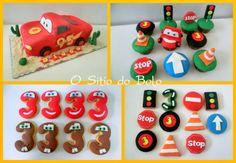 O sitio do bolo: A Festa do Diogo era sobre o tema Cars/Faisca Mcqu...