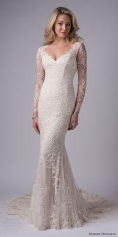 Lacey modern wedding dresses 2018