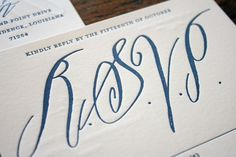 """Paydirt: b dunlap's calligraphy. LOVE the """"s"""" and """"V"""" here."""