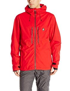 orage Mens Rendition Shell Jacket Red Medium *** Read more at the image link. #MensOutdoorClothing