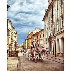 Loving this enchanting city! Kraków is so beautiful! Central And Eastern Europe, Krakow, Street View, Study, Explore, City, Instagram Posts, Beautiful, Studying