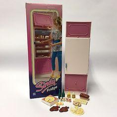 Vintage 1980's Hasbro Sindy Doll House Furniture - Fridge 8741 + Box £2.20 Sindy Doll, Doll Toys, Barbie, 80s Kids, Dollhouse Furniture, Vintage Dolls, Popcorn Maker, Looking Up, Fashion Dolls