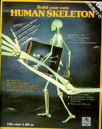 """Click to view a larger cover image of """"Human Skeleton Model (Taschen Specials)"""" by Taschen Publishing, Staff Taschen"""
