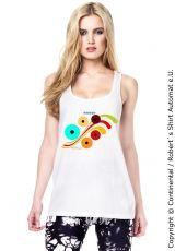 Ladies Retro Design T-Shirt, Kekeye Dots Design