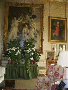 Chatsworth House interior room