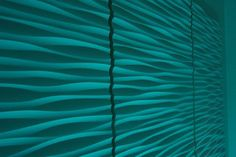 wave pattern Textured Wallpaper Ideas | Decorative 3D wall panel - Wave - eclectic - wallpaper - other metro ...