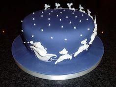 All Christmas Cakes Bauble Cake  cakepins.com