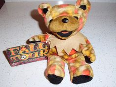 Grateful Dead Bean Bear 'Fall Tour' Collectible  $25.00 via tricie123