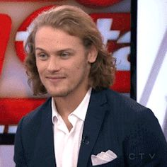 Sam and Caitriona mash-up  Original Gif Source:... | This Title Intentionally Left Blank