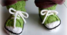 Vauvan tennarisukat ohje Baby Shoes, Winter Hats, Knitting, Crochet, Pattern, Kids, Babies, Young Children, Boys
