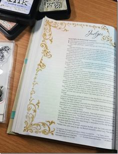 My Weekly Bible Journaling #18 | Paulette's Papers  Book of Judges
