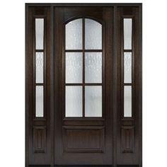 Shop For MAI Doors DD86LA 1 2 Divided Lite Entry Door True
