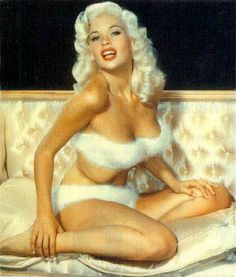 Jane Mansfield. She wasn't really a dumb blonde.