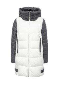 Куртка Clasna выполнена из текстиля на синтепоновом утеплителе. Детали: застежка на молнию, высок...