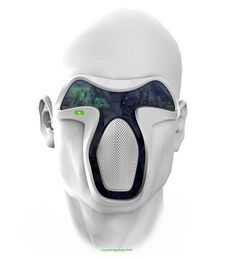 A smartmask necessary to live in the dirty cities of 2070?