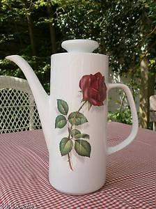 J & G Meakin 'Rosina' Coffee Pot