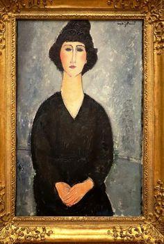 File:Amedeo modigliani, donna in nero, 1917 ca. Amédéo Modigliani, Modigliani Paintings, Catalogue Raisonne, Italian Painters, Art Moderne, Klimt, Portrait, Figurative Art, Oeuvre D'art