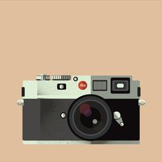 Great stylized camera animation. Retro style for a retro camera. I like how everything just falls together from chaos to unity.