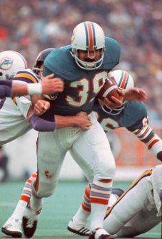 Larry Czonka - They just do not make running backs like this anymore. Still the Dolphins all time leading rusher.
