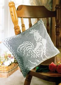 Rooster kitchen cushion free pattern