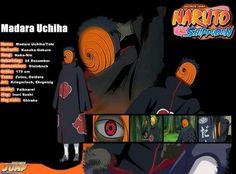 Tobi/Madara Uchiha Basic Character Info ♥♥♥ #Shippuden #Akatsuki #Obito