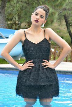 El Ajuar www.oddcatrina.com LBD Little Black Dress