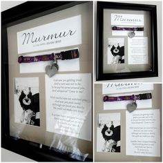 Pet Memory or Shadow Box. I created this shadow box in memory of my dog. Instead of putting her collar in a box somewhere I decided to make it into a beautiful memory. Remembering your pet. Pet memorial, sympathy for lost dog cat gift. If you are not confident in your DIY Skills, the item can also be purchased, just click! #lossofpet #rememberingpet #petmemorial