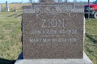 MyFamilyRootsRunDeep: Tombstone Tuesday Etta Anna Gertrude Zion Daughter of John and Mary #genealogy