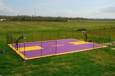 Full Outdoor Basketball Court