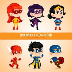 Looking for funny animated characters videos in English? We have more than 65 of the most popular baby rhymes video for your toddler in English on kids learning songs. Superhero Cartoon, Superhero Kids, Cartoon Kids, Illustration Mignonne, Cute Illustration, Baby Rhymes Video, Best Rhymes, Character Flat Design, Short Stories For Kids