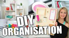 Diy Organisation, Christmas Signs Wood, Diy Christmas Tree, Diy Bureau, Diy Clothes Alterations, Grand Menage, Diy Bebe, Craft Room Storage, Diy Décoration