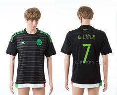 5099c5724b0 ... Jersey httpwww.xjersey.com201516-mexico-7- Pin by Bernie Ferreira on  Layún Pinterest 2015 Mexico Soccer Team WOMEN ...