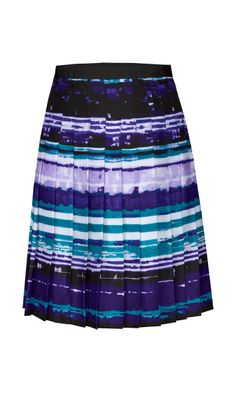NILE violet, blue, cream, turquoise, green skirt | Carlisle Spring 2014 Collection