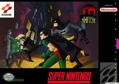 Batman game covers from Moby Games