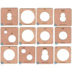 Lote de Moldes fofuchas termoformado 12 moldesR.*