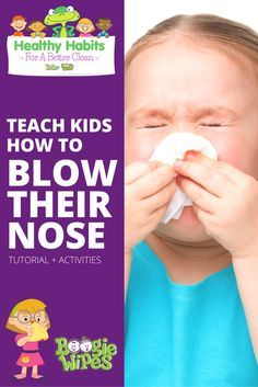 Whether your child has a cold, the flu or is suffering from allergies, teaching your child how to blow their nose is something that will help you…