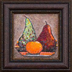 Mosaic.Груши и мандарин